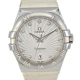 OMEGA Constellation 123.13.35.60.52.001 11P Diamond Quartz Ladies Watch