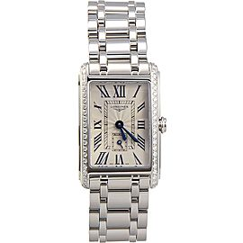 Longines L52550716 Stainless Steel 46mm Womens Watch