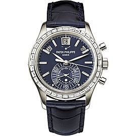 Patek Philippe 5961P Complications Chronograph Platinum Automatic Mens 40.5mm Watch