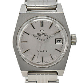 OMEGA Geneva Silver Dial Cal.684 Automatic Ladies Watch