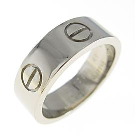Cartier 18K White Gold Love ring TkM-108