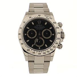 Rolex Oyster Perpetual Cosmograph Daytona Automatic Watch Stainless Steel 40