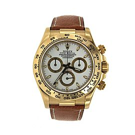 Rolex Daytona 116518 40mm Mens Watch