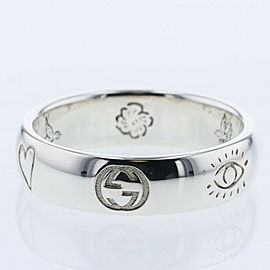 GUCCI Silver925 Blind for love Ring TBRK-404