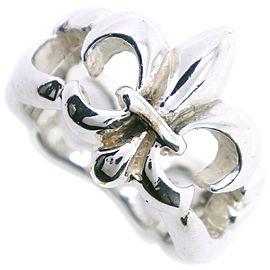 Silver Open Design Ring