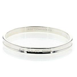 TIFFANY & Co Silver925 1837 Narrow Bangle TBRK-374