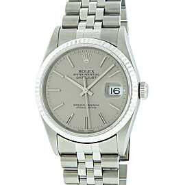 Rolex Datejust 16234 Stainless Steel & 18K White Gold 36mm Watch