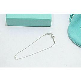 Tiffany & Co. Sterling Silver Peretti By The Yard Diamond Bracelet