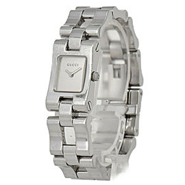 GUCCI 2305L Silver Dial SS Quartz Ladies Watch
