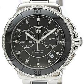 Polished TAG HEUER Formula 1 Daimond Ceramic Steel Quartz Watch CAH1212
