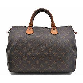 Louis Vuitton Monogram Speedy 30 Hand Bag M41526 LV A5171