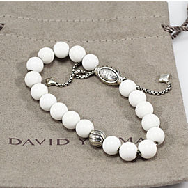 David Yurman Bead Bracelet with Riverstone, adjustable