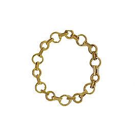 Aaron Basha 18K Yellow Gold Link Bracelet