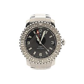 Blancpain Fifty Fathoms Trilogy GMT Automatic Watch Stainless Steel 40
