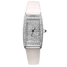 Vicence Milor 14k White Gold Women's Watch