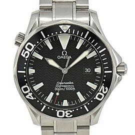 OMEGA Seamaster 300 Pro Divers 2264.50 Stainless Steel black Dial Quartz Men...