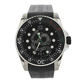 Gucci Snake Dive Quartz Watch Stainless Steel and Rubber 40