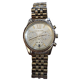 Michael Kors MK5556 Chronograph Gold-Tone PVD 38mm Watch