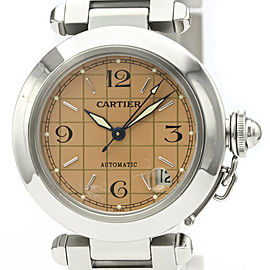 Polished CARTIER Stainless Steel Pasha C Watch HK-2068