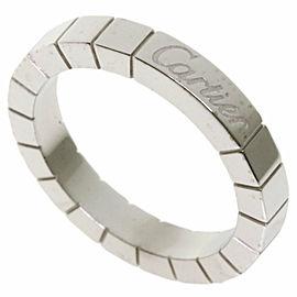 CARTIER 18k White Gold Lanire Ring