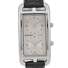 HERMES Cape Cod Nantucket Deux Zones CC3.210 Quartz Women's Watch