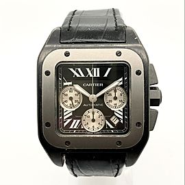 CARTIER SANTOS 100 Automatic Steel & Titanium Watch