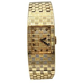 Boucheron Paris 18 Karat Gold Wristwatch