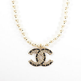 CHANEL Gold Plated Necklace