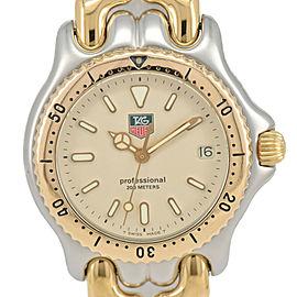 TAG HEUER S/el Professional S95.713 200M SS/GP Quartz Boy's Watch