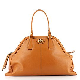 Gucci RE(BELLE) Top Handle Bag Leather Large