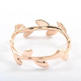 TIFFANY & Co. 18K pink Gold Olive leaf Ring
