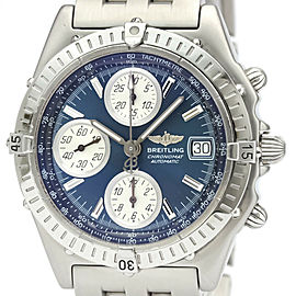 Polished BREITLING Chronomat Steel Automatic Mens Watch A13350