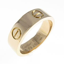 Cartier 18K Pink Gold Love ring TkM-99