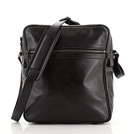 Louis Vuitton Clarkson Messenger Bag Monogram Shadow Leather