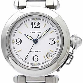Cartier Pasha C W31055M7 Stainless Steel Automatic 35mm Unisex Watch
