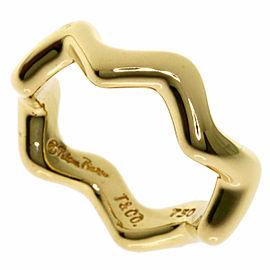 TIFFANY & Co. 18K Yellow Gold Zigzag Ring
