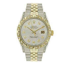 Rolex Datejust 16013 18K Yellow Gold and Stainless Steel 36mm Mens Watch