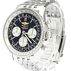 BREITLING Navitimer 01 Steel Automatic Mens Watch AB0120