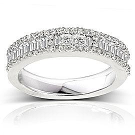 Kobelli Diamond Wedding Band 3/5 carat (ctw) in 14K White Gold