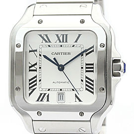 CARTIER Santos De Cartier LM Automatic Mens Watch WSSA0009