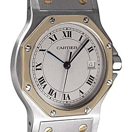 Cartier Midsize Santos Octagon 187902 38mm x 31mm Unisex Watch