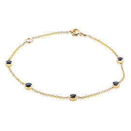 Black Diamond Bracelet 1/2 Carat (ctw) in 14k Gold - yellow-gold