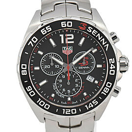 TAG HEUER Formula 1 CAZ1015.BA0883 Senna Edition Quartz Men's Watch #HK-322