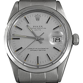 Rolex Oyster Perpetual Date 1500 34mm X 42mm Mens Watch