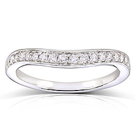 Round-cut Diamond Matching Wedding Band 1/5 Carat (ctw) in 14k White Gold