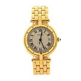 Cartier Panthere Vendome Quartz Watch Yellow Gold 30