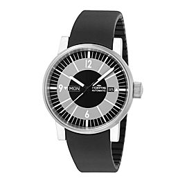 Fortis Black Black Silicone Strap 623.10.38 SI.01 Watch