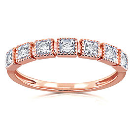 Diamond Wedding Ring 1/6ct TDW in 10k Rose Gold