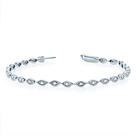 Diamond Bracelet 1/4ct TDW in 10k White Gold - 7 inch