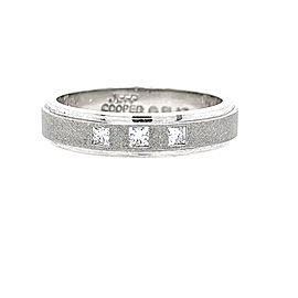 Jeff Cooper R-3165 Platinum Diamonds Ring
